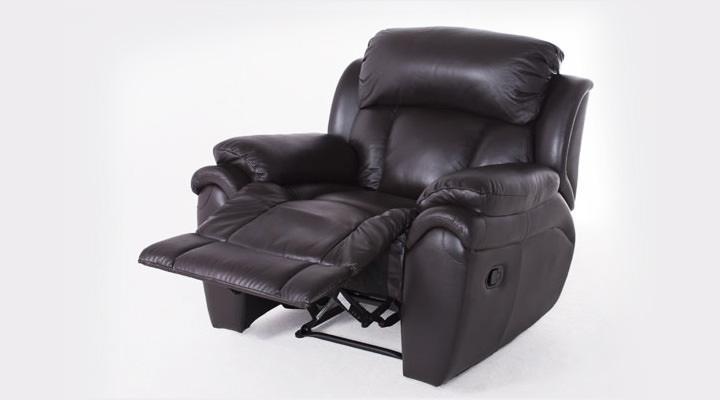 Кожаное кресло реклайнер Boston (Бостон) - 4