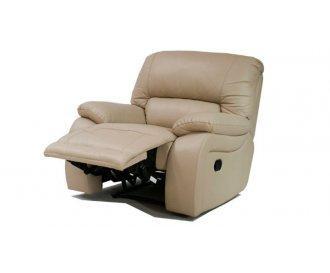 Кожаное кресло реклайнер ALASKA (Аляска)