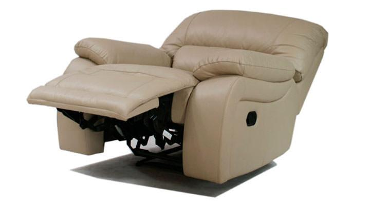 Кожаное кресло реклайнер ALASKA (Аляска) - 4