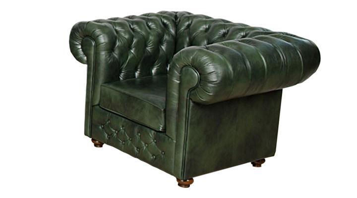 Кожаное кресло Chesterfield