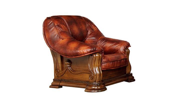 Кожаное кресло Grizzly (Гризли) - 4