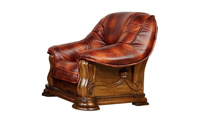 Кожаное кресло Grizzly (Гризли) - 3