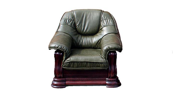 Кожаное кресло Grizzly (Гризли) - 2