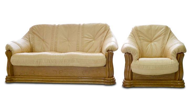 Кожаное кресло Цезарь - 2