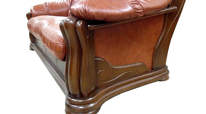 Кожаное кресло Цезарь - 3