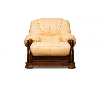 Кожаное кресло Барон