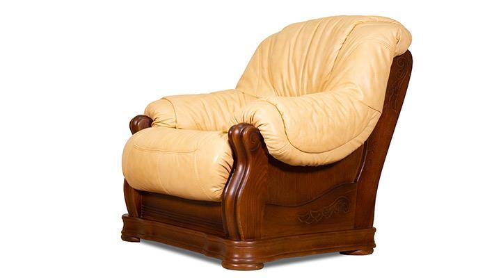 Кожаное кресло Барон - 4