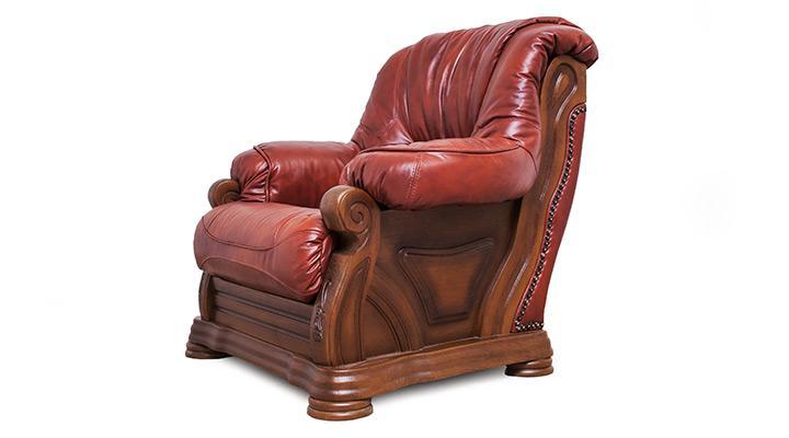 Кожаный комплект с двумя креслами Виконт - 8