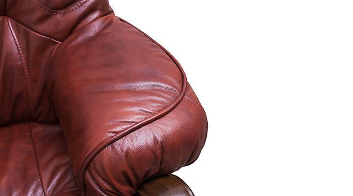 Кожаный комплект с двумя креслами Виконт - 12