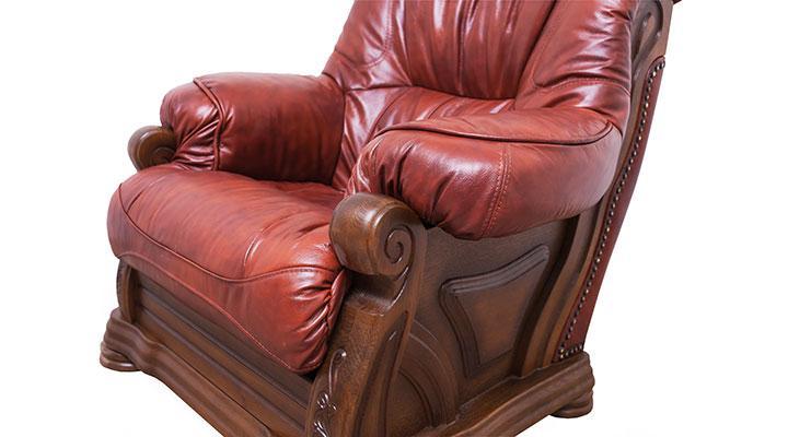 Кожаный комплект с двумя креслами Виконт - 11