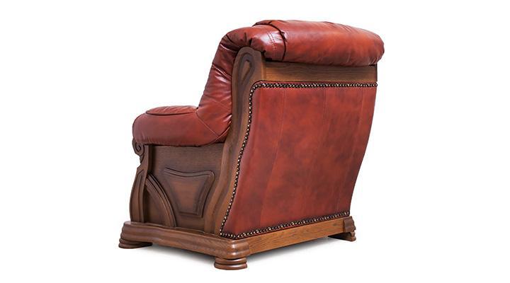 Кожаный комплект с двумя креслами Виконт - 10