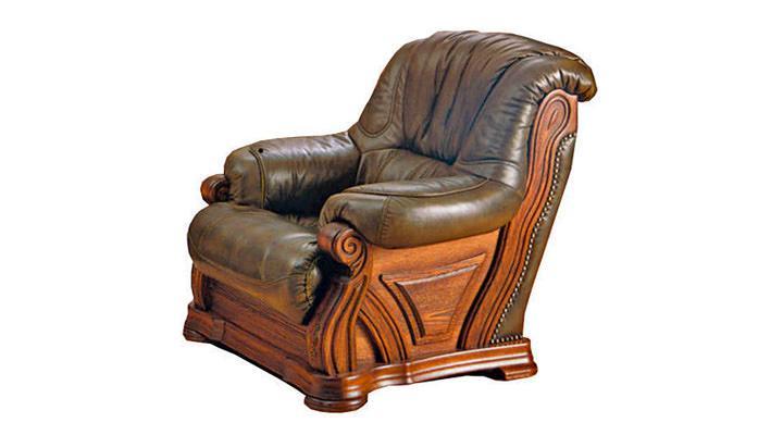 Кожаное кресло Кардинал