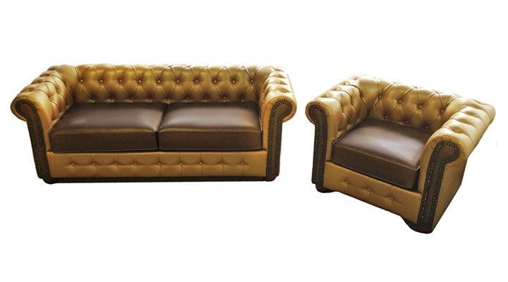 Кожаное кресло Сан Ремо - 3