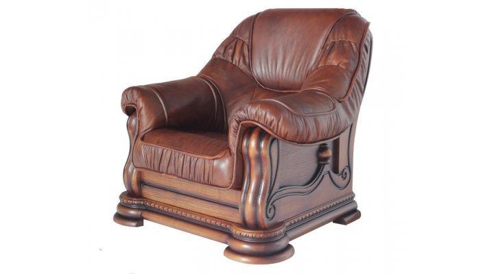 Кожаное кресло Гризли