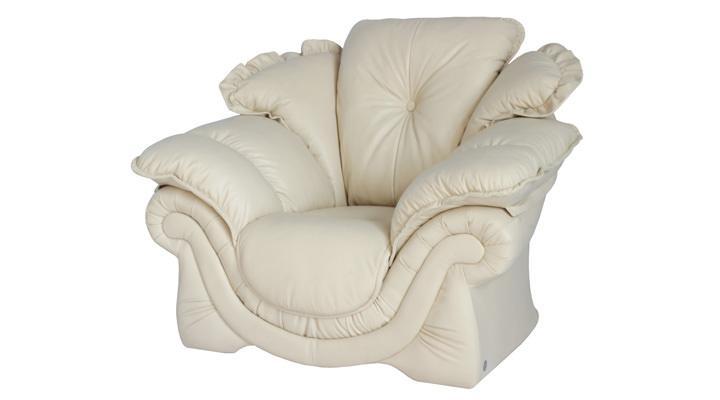 Кожаное кресло Лоретта