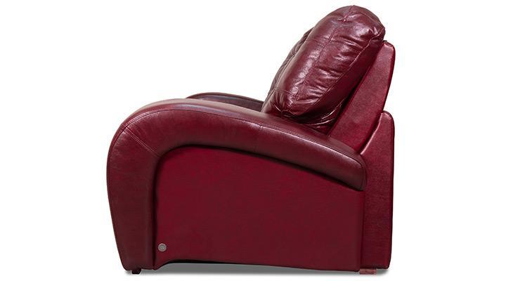 Кожаное кресло реклайнер Винс - 7