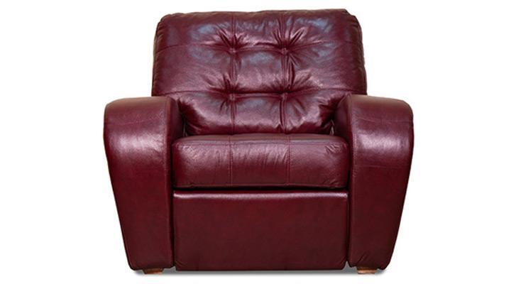 Кожаное кресло реклайнер Винс