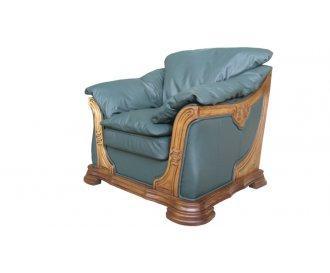 Кожаное кресло Грег