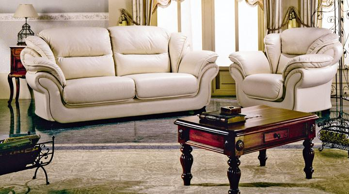 Кожаное кресло Гренджер - 2