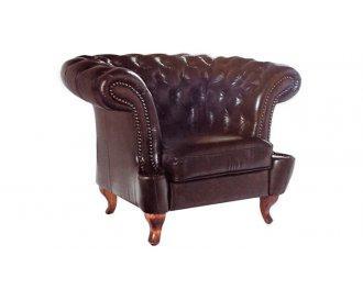 Кожаное кресло Честер Глост