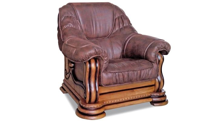 Кожаное кресло Гризли - 3