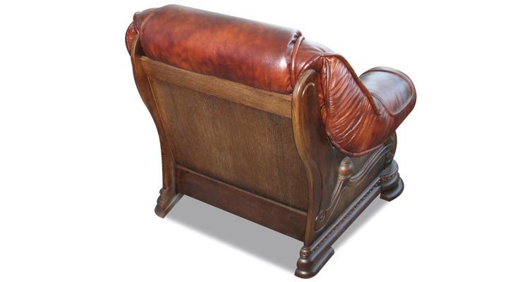Кожаное кресло Гризли - 7