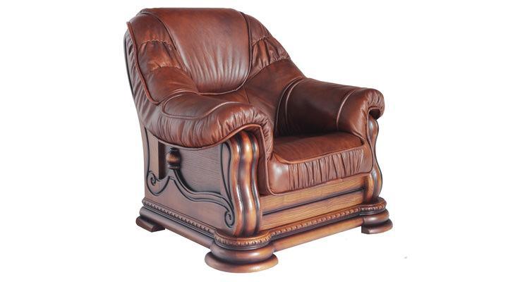 Кожаное кресло Гризли - 4