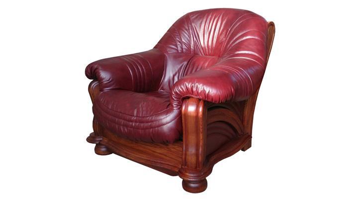 Кожаное кресло Диаз
