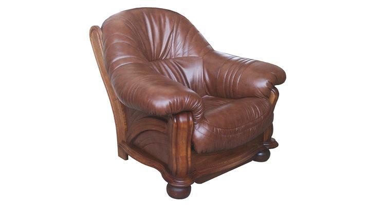 Кожаное кресло Диаз - 2