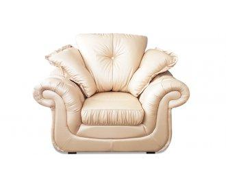 Кожаное кресло Брокард