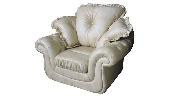 Кожаное кресло Брокард - 4