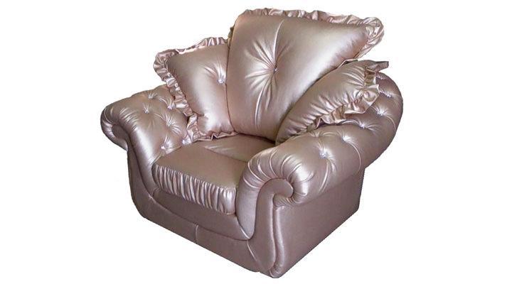 Кожаное кресло Брокард - 3