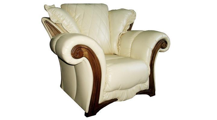 Кожаное кресло Майфаер - 2