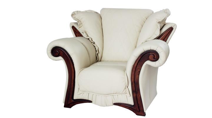 Кожаное кресло Майфаер - 3