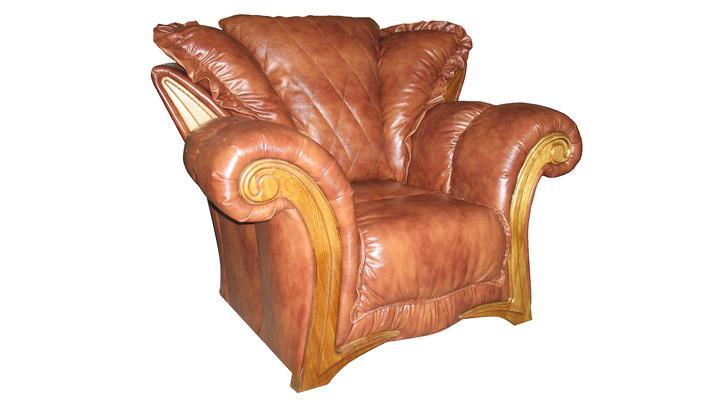 Кожаное кресло Майфаер - 4