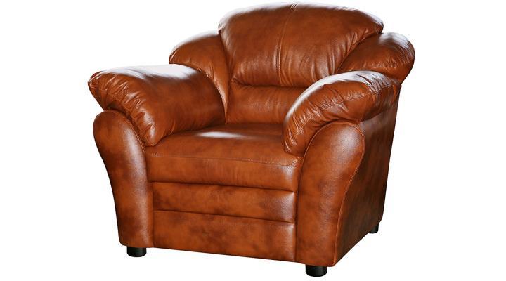 Кожаное кресло Атланта