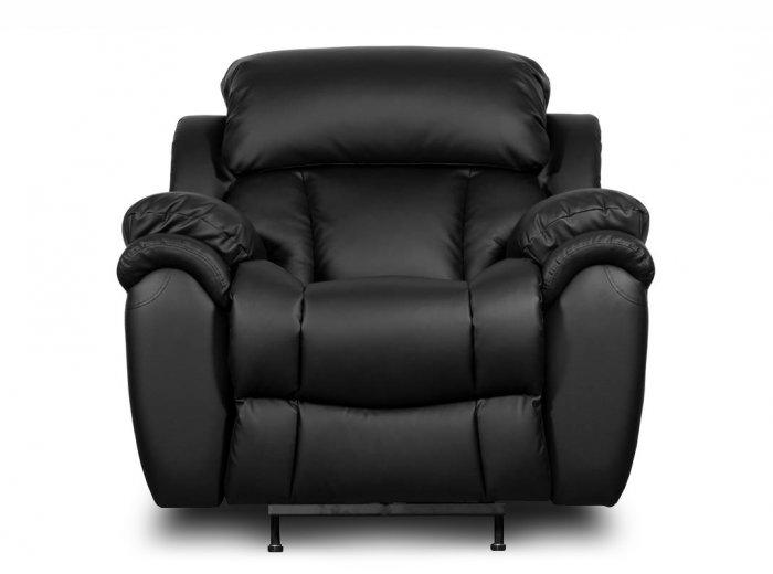 Кожаное кресло реклайнер Бостон