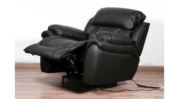 Кожаное кресло реклайнер Бостон - 2