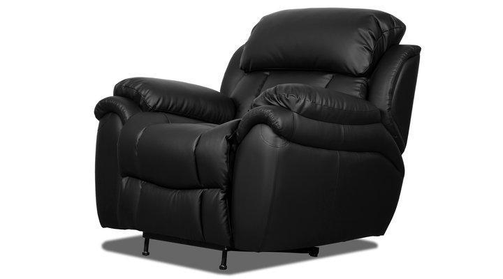Кожаное кресло реклайнер Бостон - 3