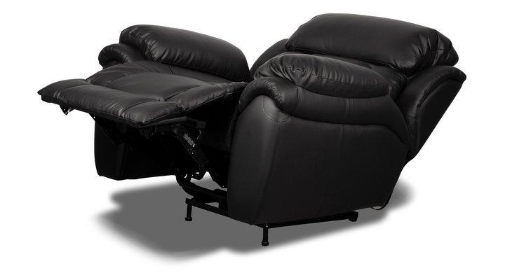 Кожаное кресло реклайнер Бостон - 6