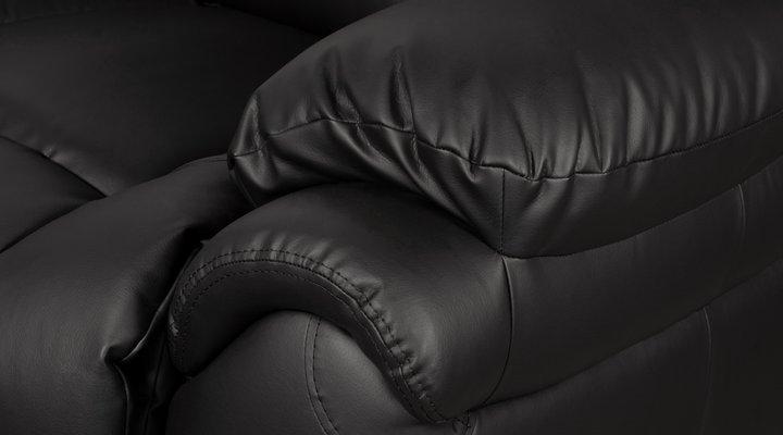 Кожаное кресло реклайнер Бостон - 10