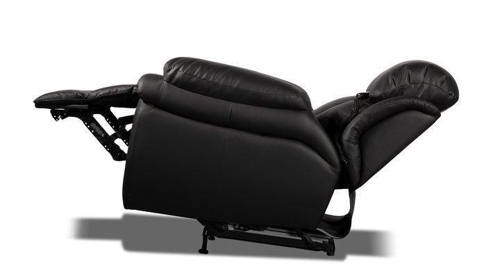 Кожаное кресло реклайнер Бостон - 9