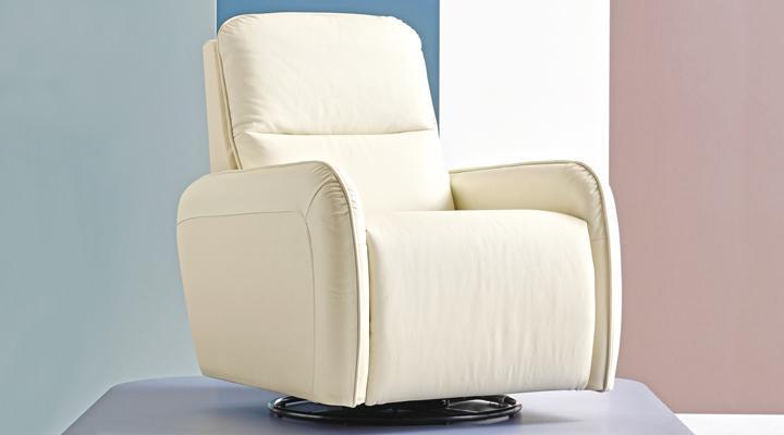 Кожаное кресло реклайнер Лас-Вегас - 4