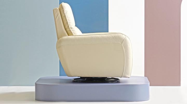 Кожаное кресло реклайнер Лас-Вегас - 6