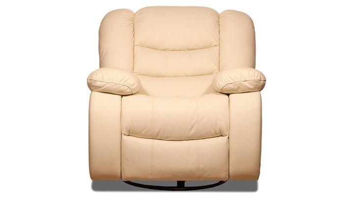 Кожаное кресло реклайнер Манхэттен - 6