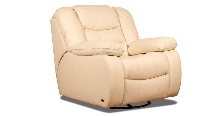 Кожаное кресло реклайнер Манхэттен - 9