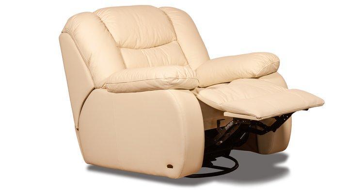 Кожаное кресло реклайнер Манхэттен - 13