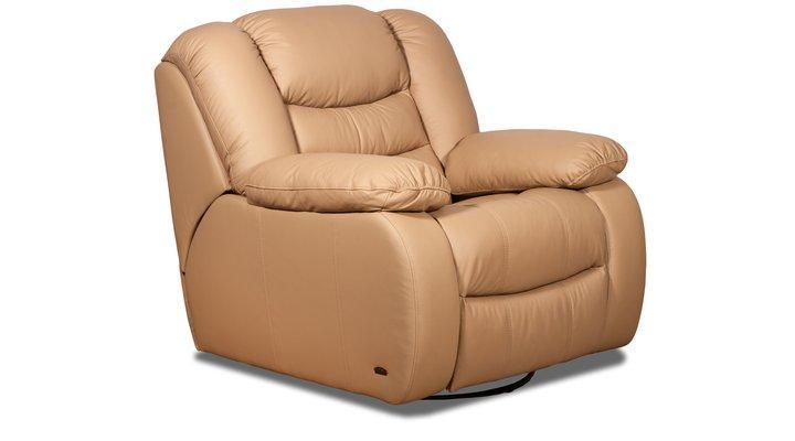 Кожаное кресло реклайнер Манхэттен - 8