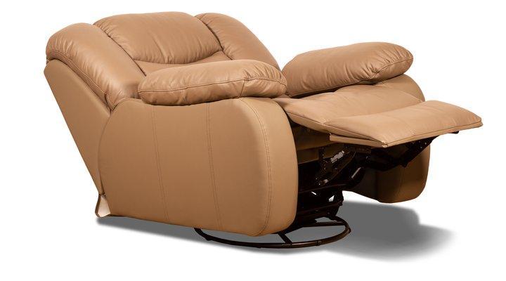 Кожаное кресло реклайнер Манхэттен - 11