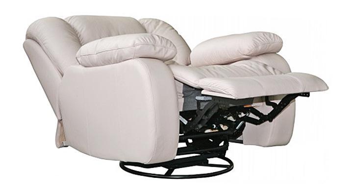 Кожаное кресло реклайнер Манхэттен - 5